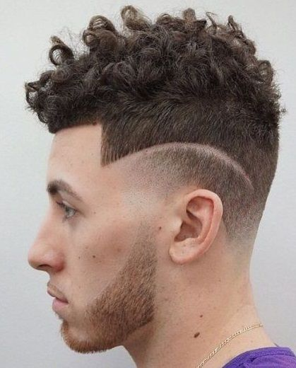 Hairstyle For Curly Hair Male Alluring Haircuts For Men With Curly Hair 2018  Pinterest  Haircuts Curly