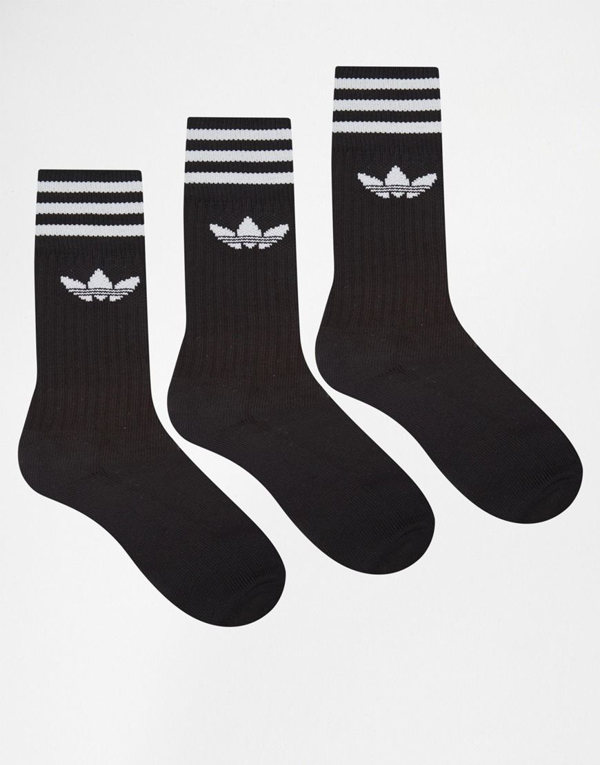 81ecfcbd9 Adidas Solid Crew 3 Pack Socks S21490 | Christmas | Adidas originals ...