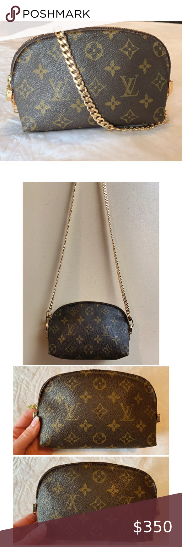 Louis Vuitton Monogram Cometic Pouch Crossbody in 2020