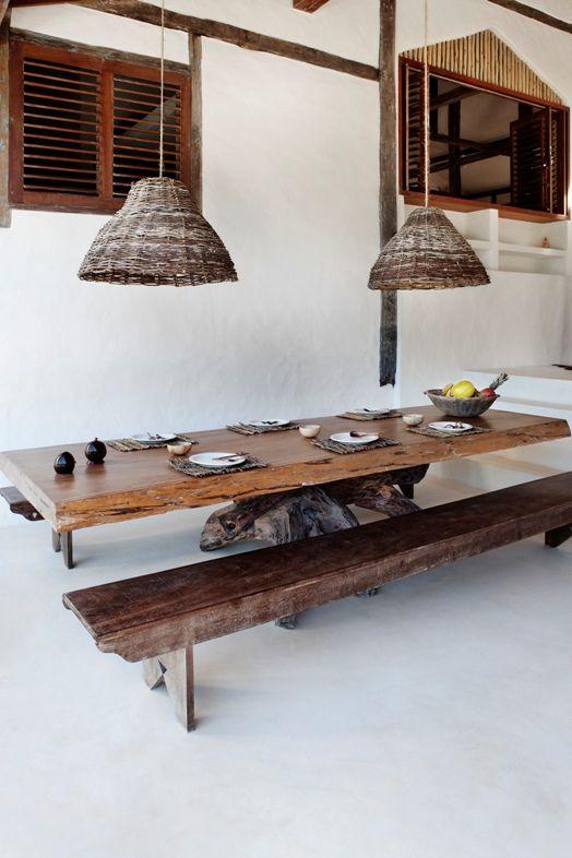 De UnasCasas Handmade Wooden Decoración Y TableMuebles Mesas Rjc543qALS