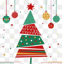 Decorated Christmas Tree With Lights Cartoon Vector Clipart Friendlystock Christmas Lights Christmas Tree Decorations Christmas Tree Lighting