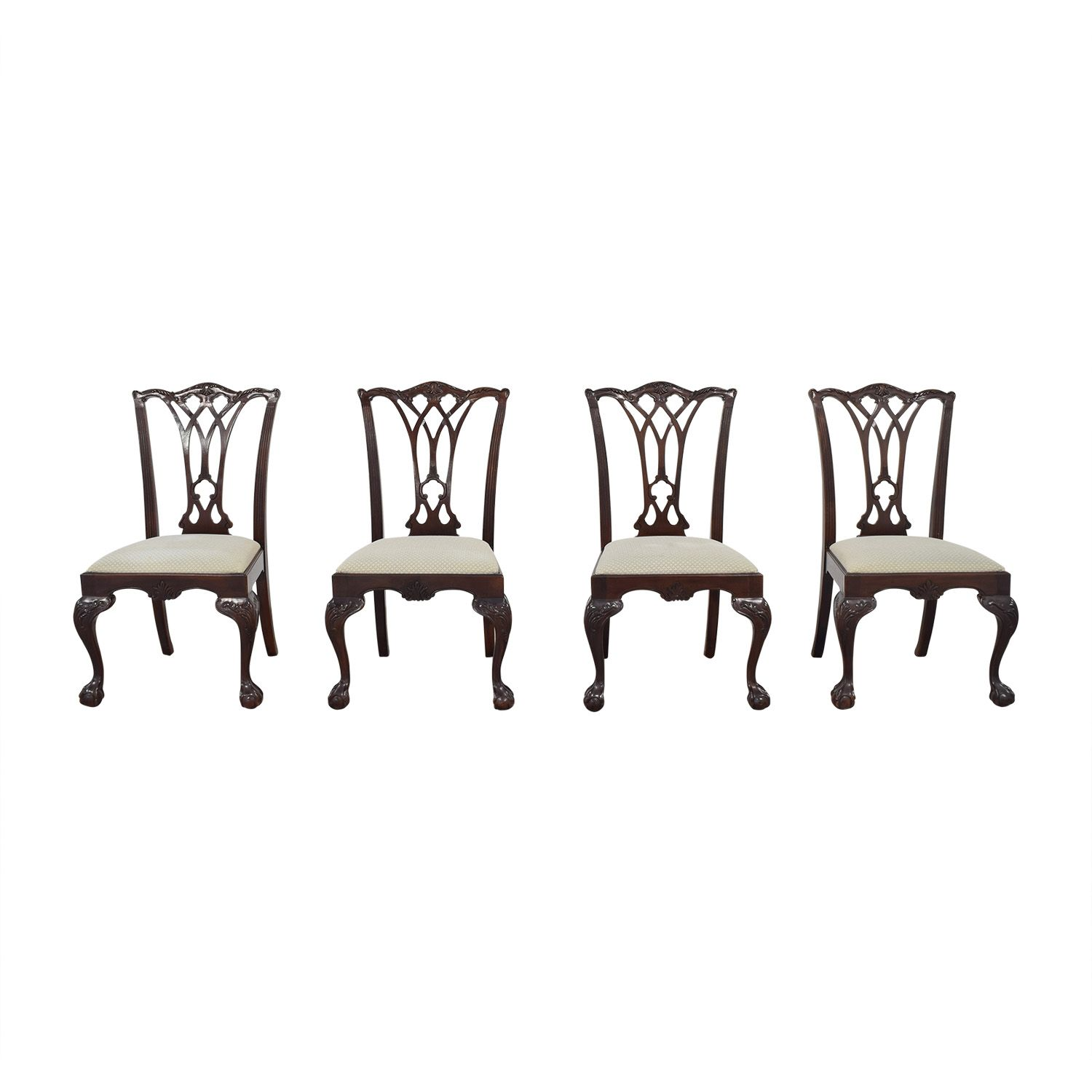 Drexel Heritage Armless Dining Chairs Dining Chairs Chair Dining