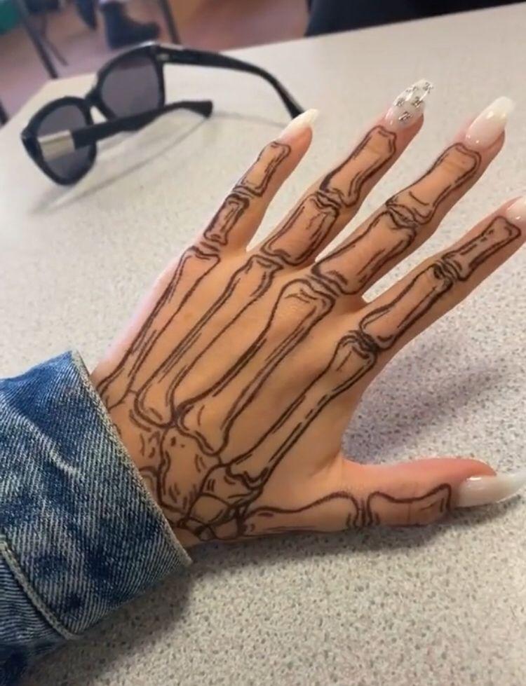 Image Result For Skeleton Hand Tattoo Hand 15
