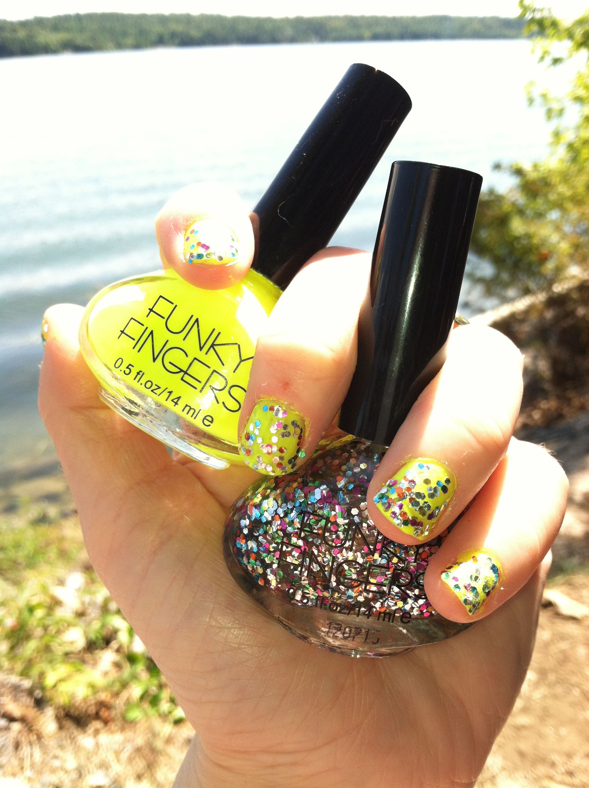 funky fingers nail polish made in USA! I do love me some Funk! | Key ...
