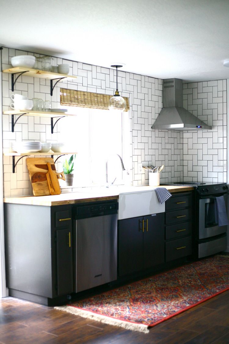 All about our DIY butcher block countertops Kitchen