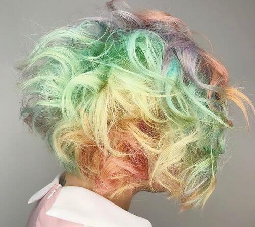 Hidden Rainbow Hair Tutorial With Bleaching Youtube Hidden Rainbow Hair Rainbow Hair Hair Tutorial