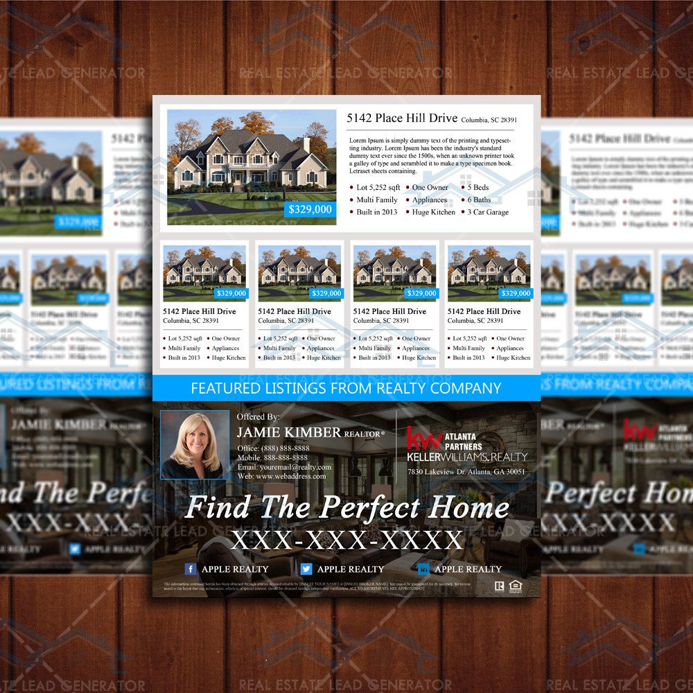 professional realtor branding listing magazine template real professional realtor branding listing magazine template real estate listing flyer template psd by