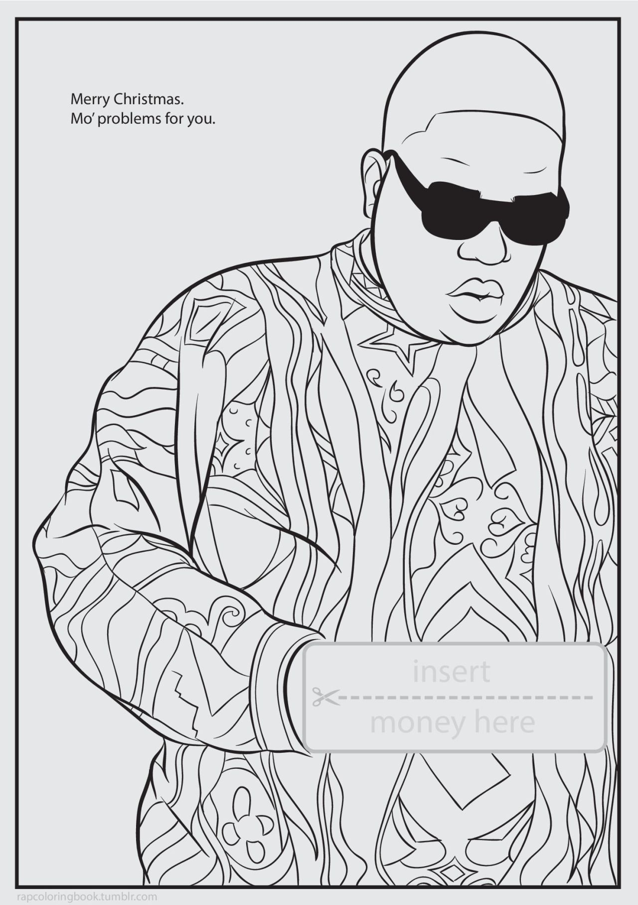 Rapper Tupac Coloring Pages - Coloring Pages Ideas