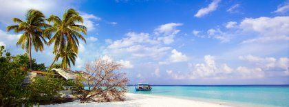 7a5db7e9310 Tropical Beach Side Facebook Covers