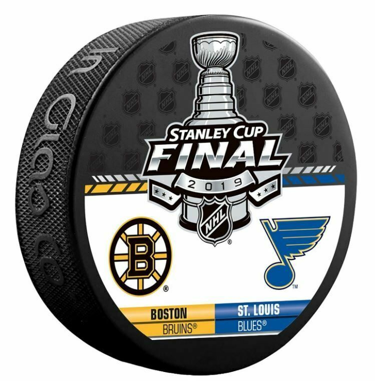 2019 Stanley Cup Final Puck Nhl Dueling Team Design Boston Bruins St Louis Blues Stanley Cup Finals Boston Bruins Stanley Cup