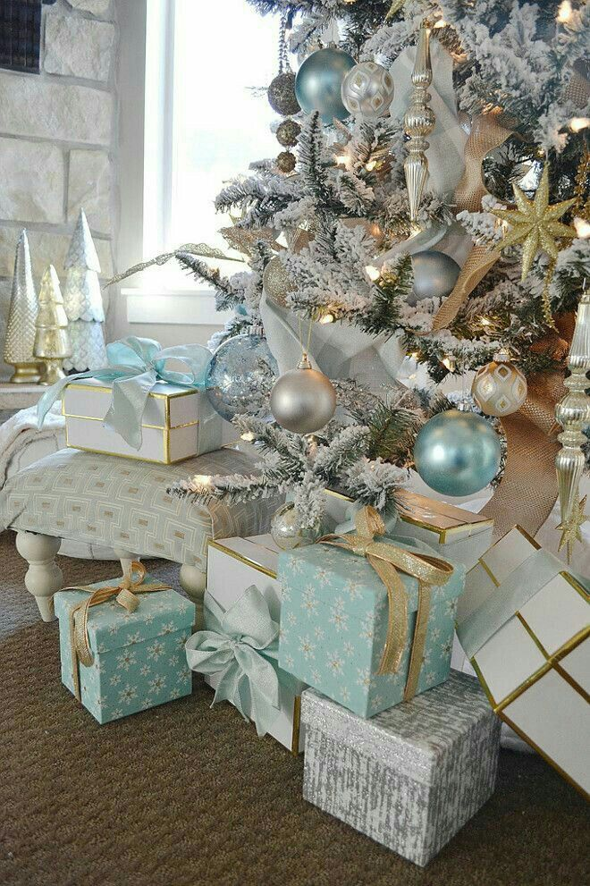 Navidad Navidad  Pinterest Aqua, Christmas tree and