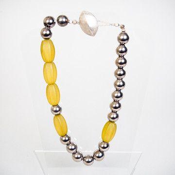 Pinball Wizard Necklace  by Jane Hruska