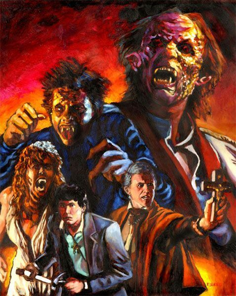 Fright Night By Artist Chris Kuchta Horror Art Fright Night