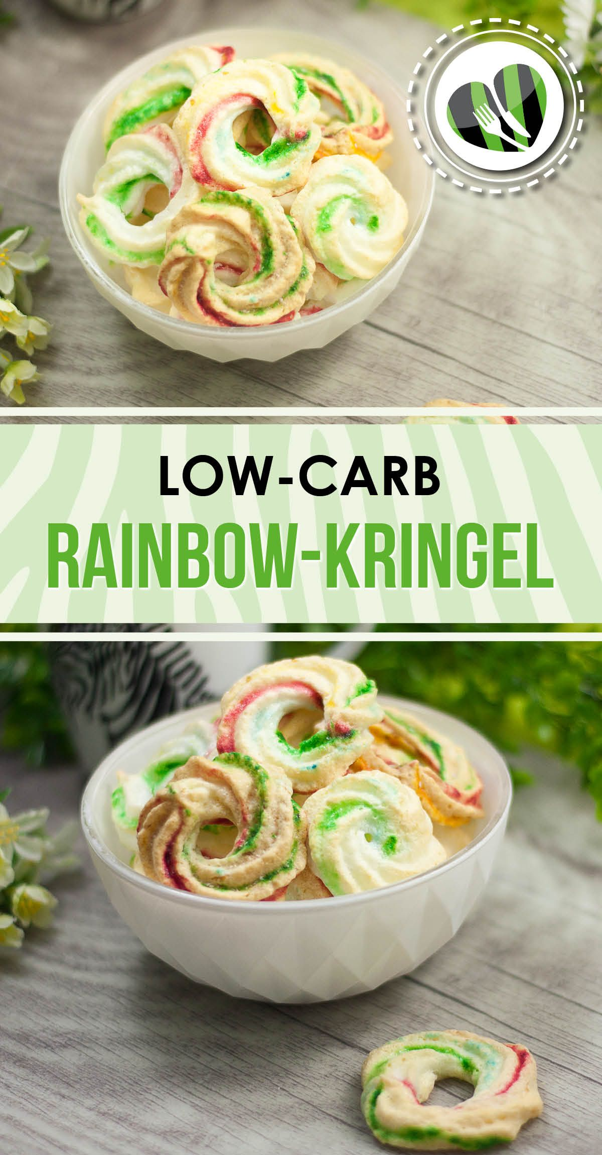 rainbow kringel lecker lowcarb und kalorienarm low. Black Bedroom Furniture Sets. Home Design Ideas