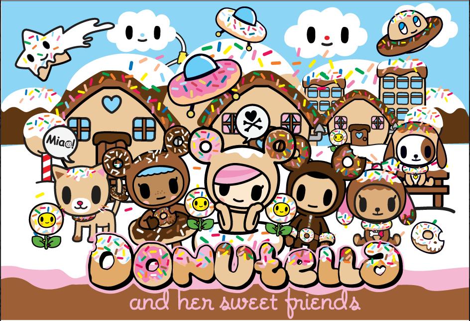Donutella Tokidoki Characters Cute Wallpapers Tokidoki
