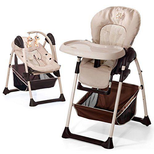 Hauck Sit N Relax Zoo Chaise Haute 2 En 1 Convertible En Transat Des Naissance Evolutive Reglable En Hauteur Chaise Haute Transat Chaise
