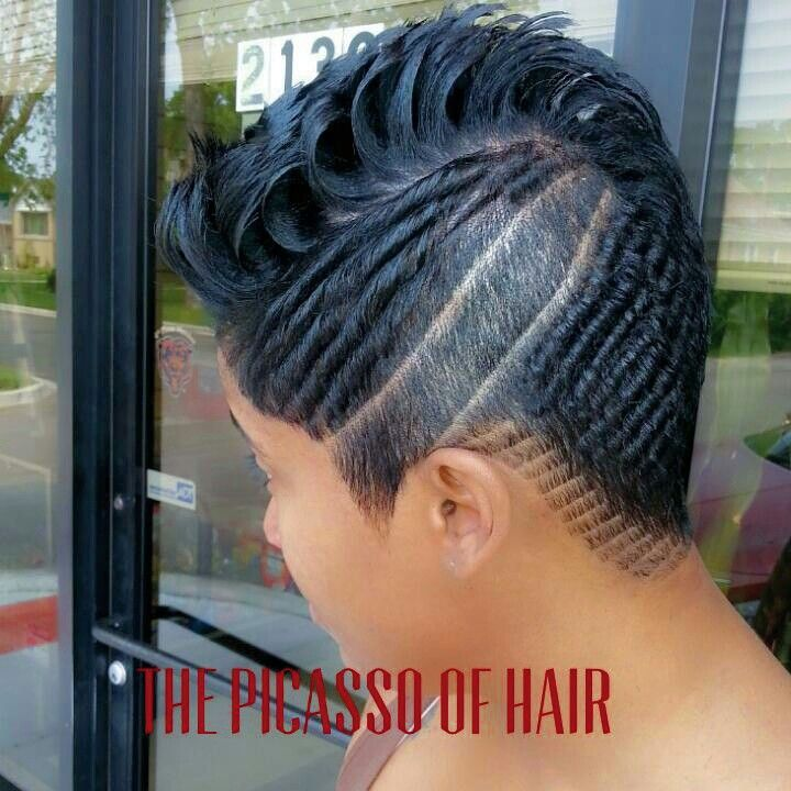 The Picasso of hair Chicago  The Picasso of HAIR  Hair styles Short hair styles Cute