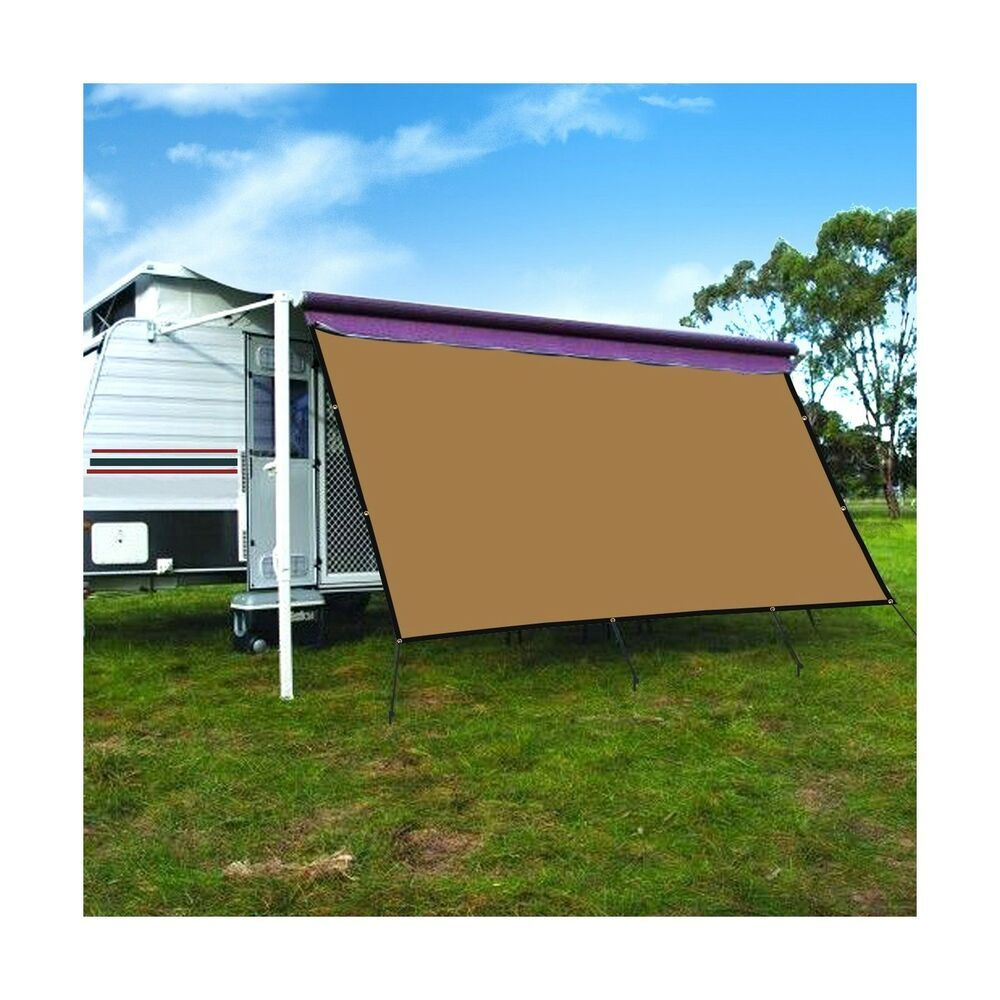 Sponsored Ebay Camwings Rv Awning Privacy Screen Shade Panel Kit Sunblock Shade Drop 10 X 20 Rv Camping Supplies Outdoor Living Outdoor