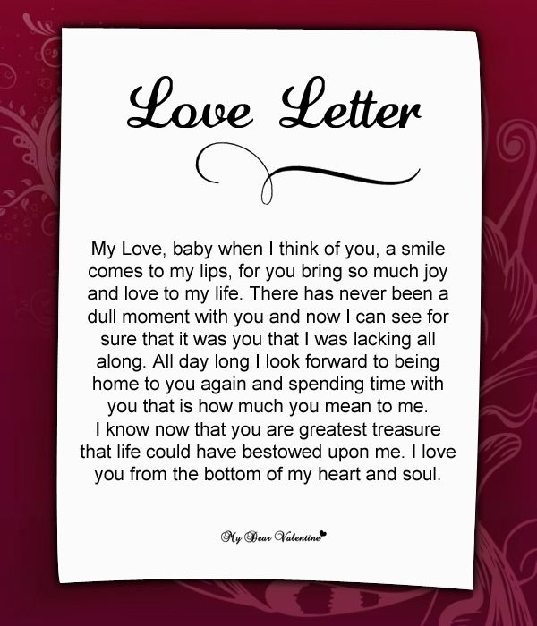 Love Letter For Her from i.pinimg.com