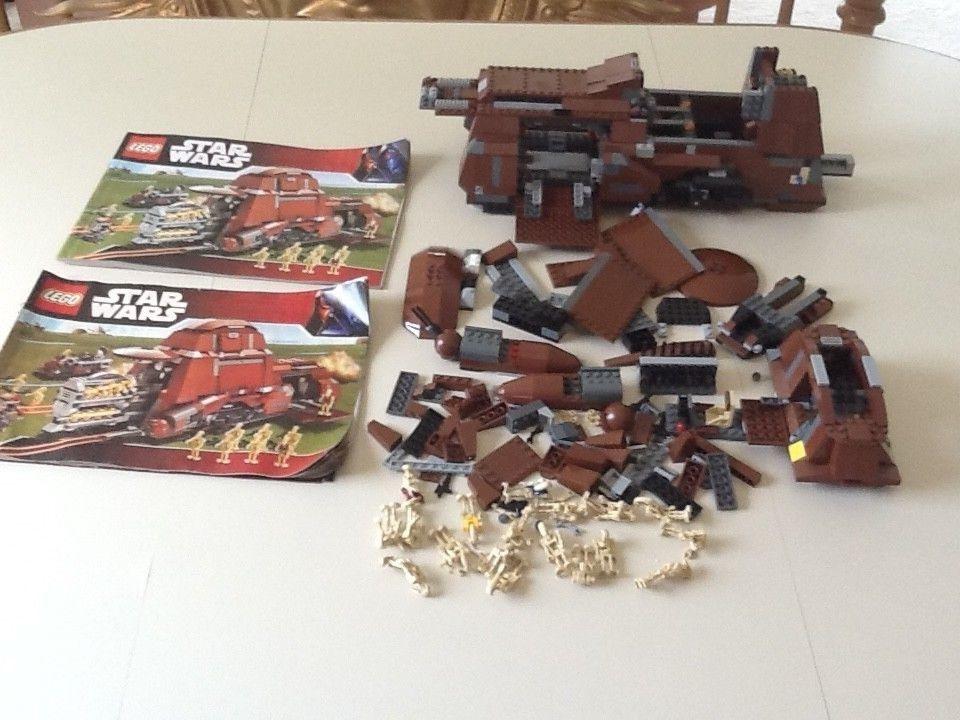 LEGO Star Wars Trade Federation MTT (7662) 95% Complete