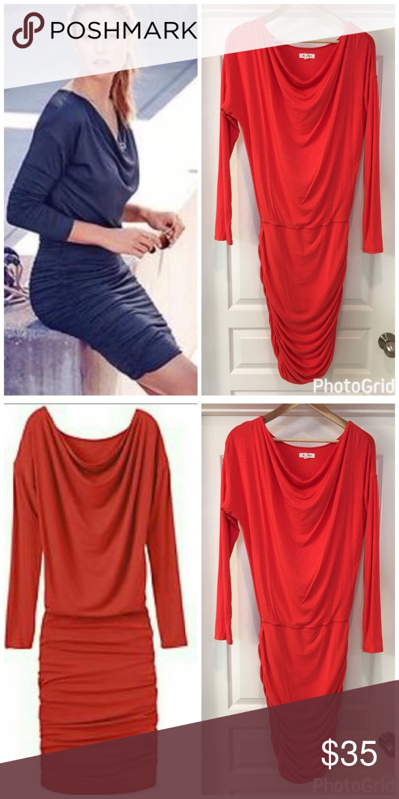 0e9baefe97aa Athleta Tulip Long Sleeve Dress In excellent condition with no flaws ...
