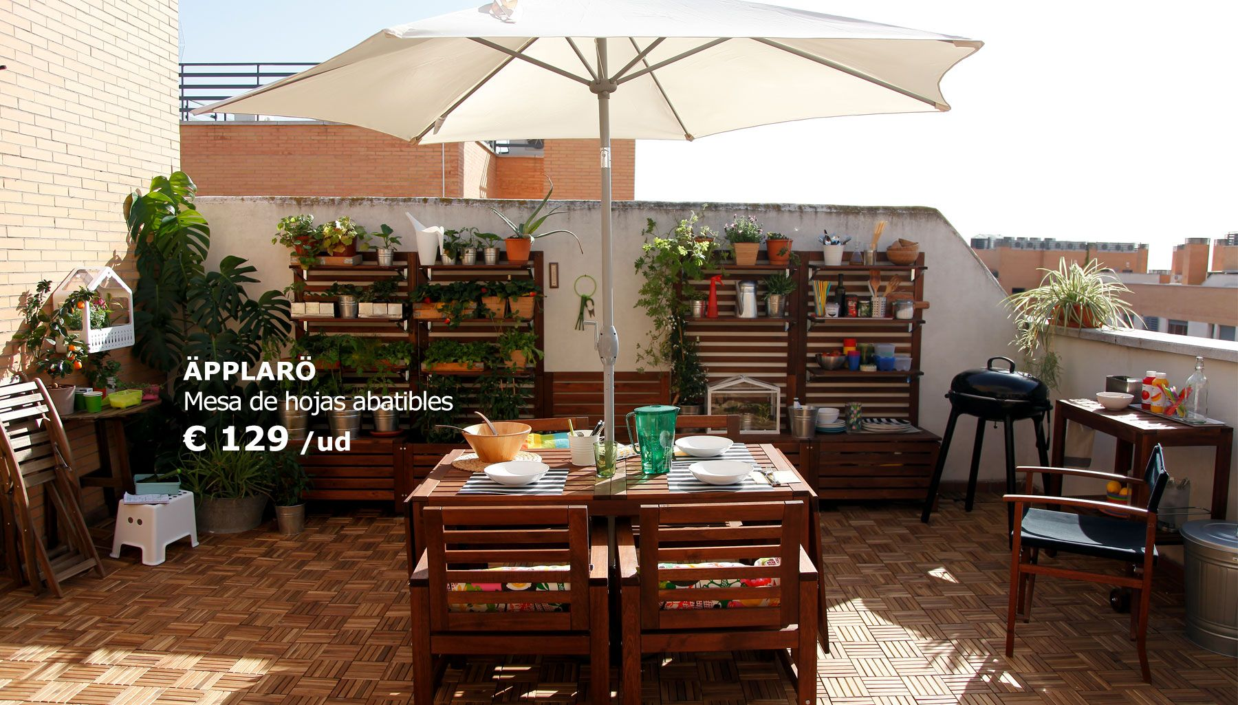 11.jpg (1800×1025) | Terraza - Jardín | Pinterest | Poner la mesa ...