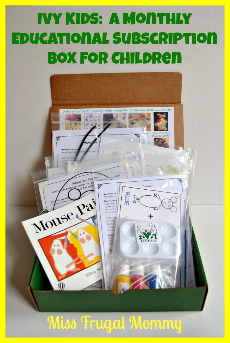 Ivy Kids A Monthly Educational Subscription Box For