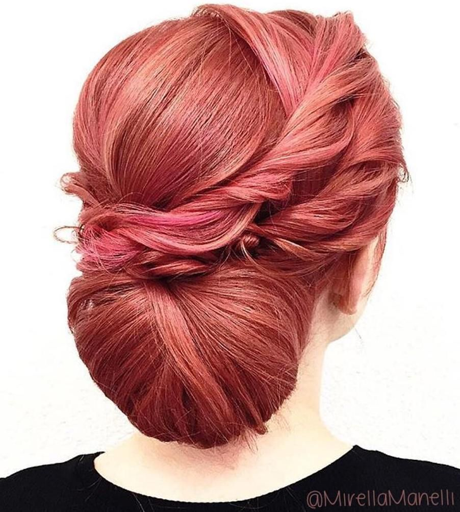 chic chignon buns that bring the class into formal and casual
