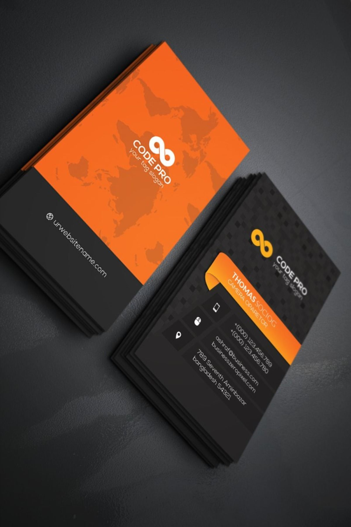 Business Card Business Card Template Word Printable Business Cards Visiting Card Design Psd