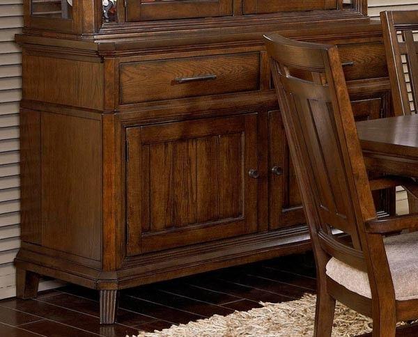 Broyhill Furniture Estes Park Artisan Oak Sideboard BRO 4364 513
