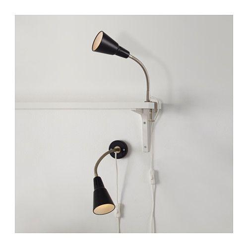 Kvart foco de pared con pinza ikea sofas - Ikea pinzas cocina ...
