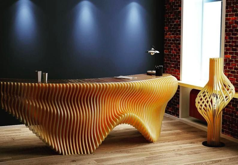 Comptoir D Accueil Acces Pmr Bureau De Reception Hotesse Bureau Design Stand De Reception Table Bar Meuble Cuisine Cnc Furniture Plans Office Table Design Furniture Design