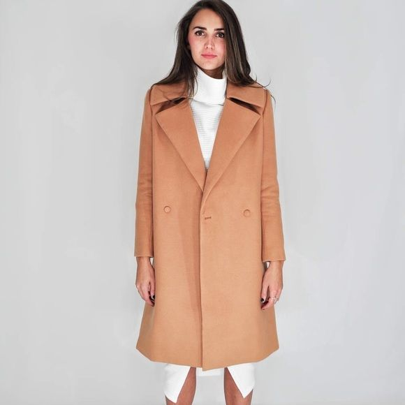 d354cff33 HP || C/MEO Collective | Camel Long Jacket Coat NWT | My Posh Picks ...