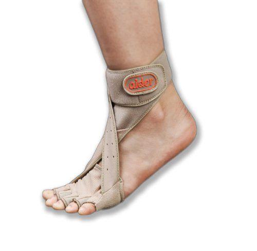 Beige Aider Drop Foot Brace Afo Orthotics Foot Drop Left