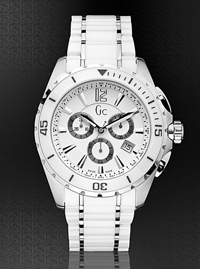 gc i63002g1 gc horloges guess collection gc sport class xxl ceramic timepiece xxlwrist watchesmen s