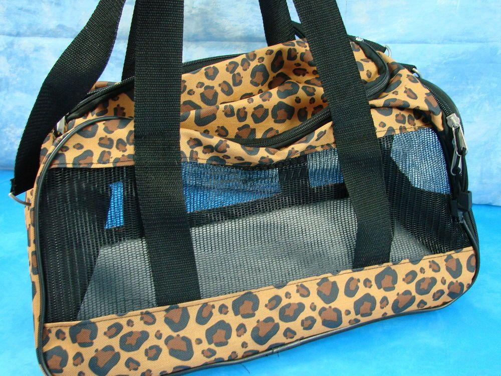 Purse Pets Leopard