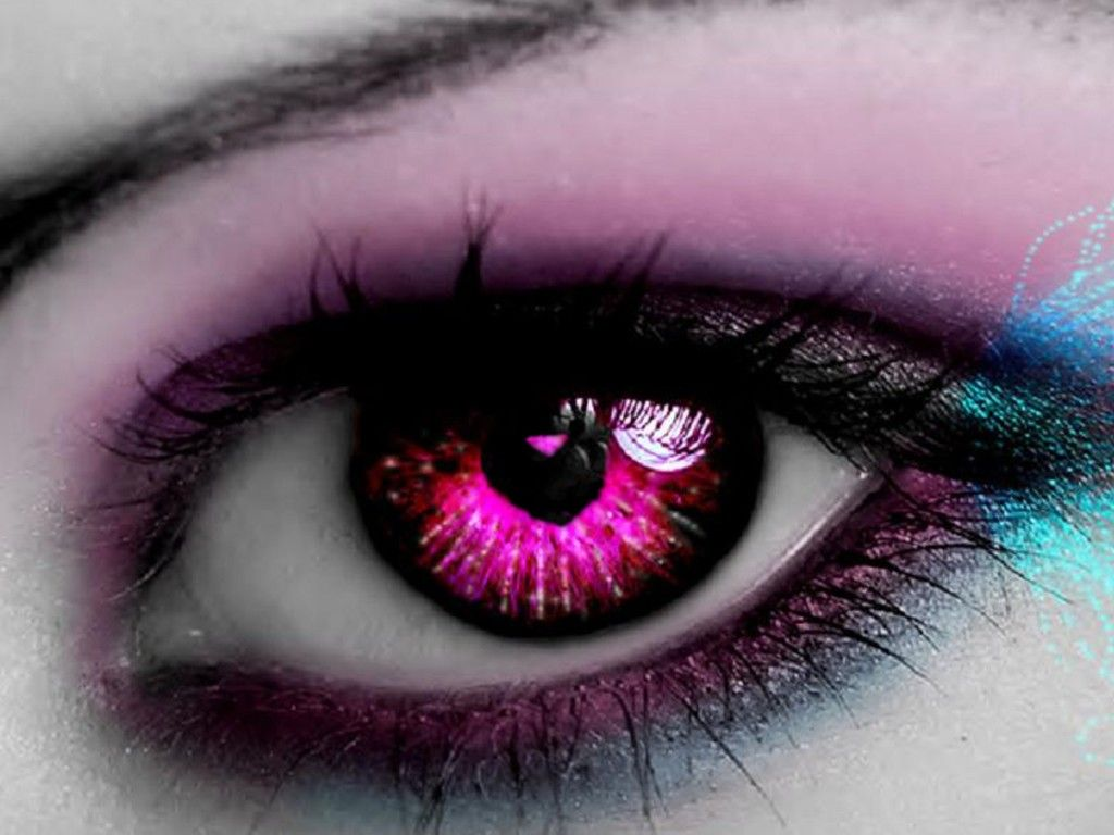 Amazing Eyes Amazing Red Eye With Love Heart Free Download