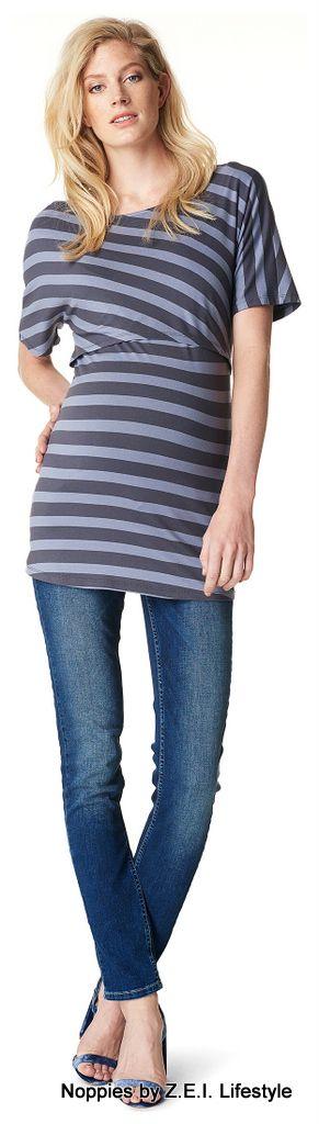 Wanneer Zwangerschapskleding.Het Borstvoedingsshirt Alice Van Noppies Is Gemaakt Van Een Zeer