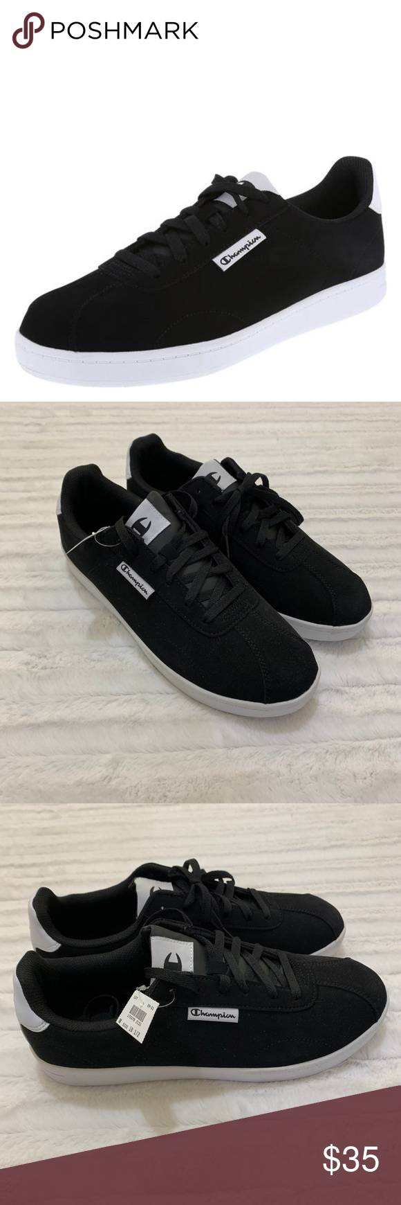 07e969b08be69 Champion Rally Court Mens Black Sneaker Shoes Brand new with tags and in  box! Champion