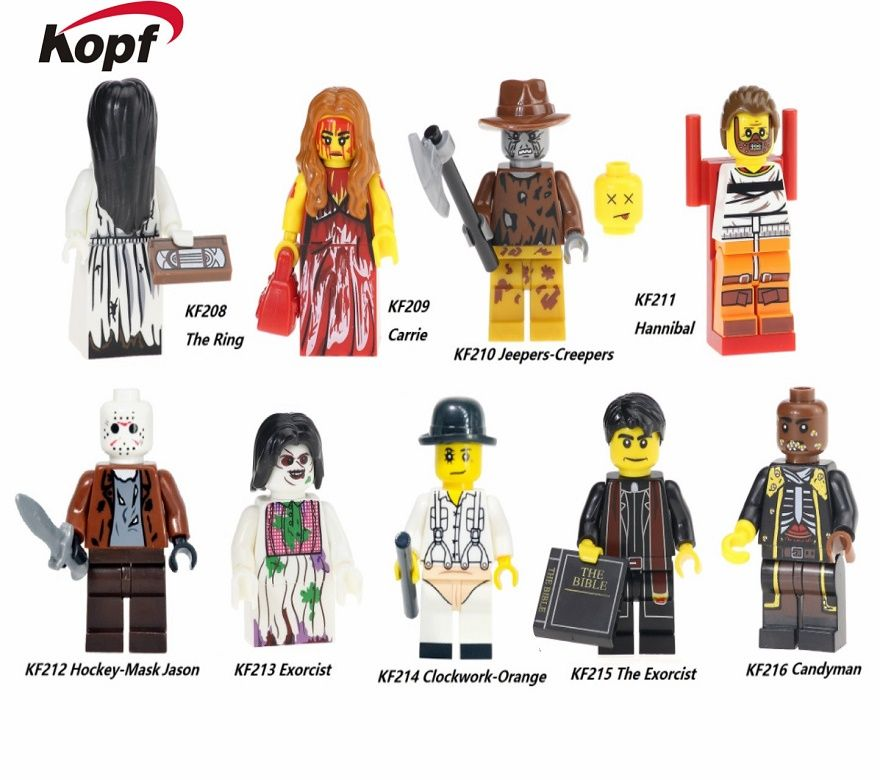 Click To Buy Building Blocks The Horror Theme Movie Hannibal
