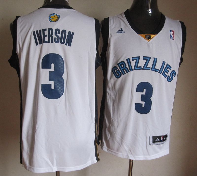 low priced a0132 d61f0 Adidas NBA Memphis Grizzlies 3 Allen Iverson New Revolution ...