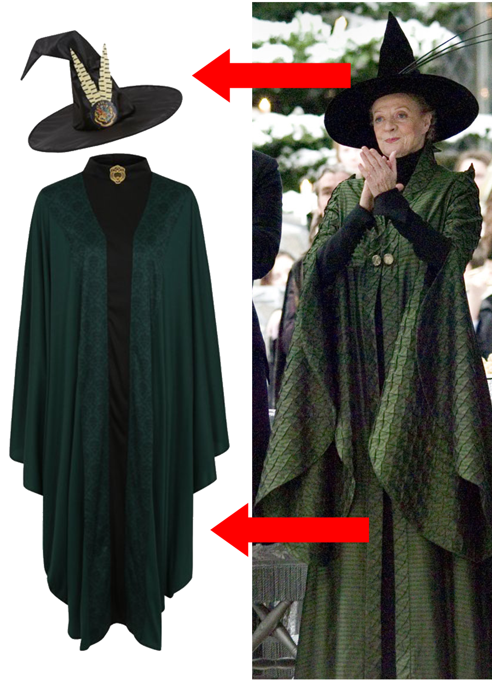 Harry Potter Minerva Mcgonagall Anazhthsh Google Harry Potter Costume Harry Potter Professors Harry Potter Outfits