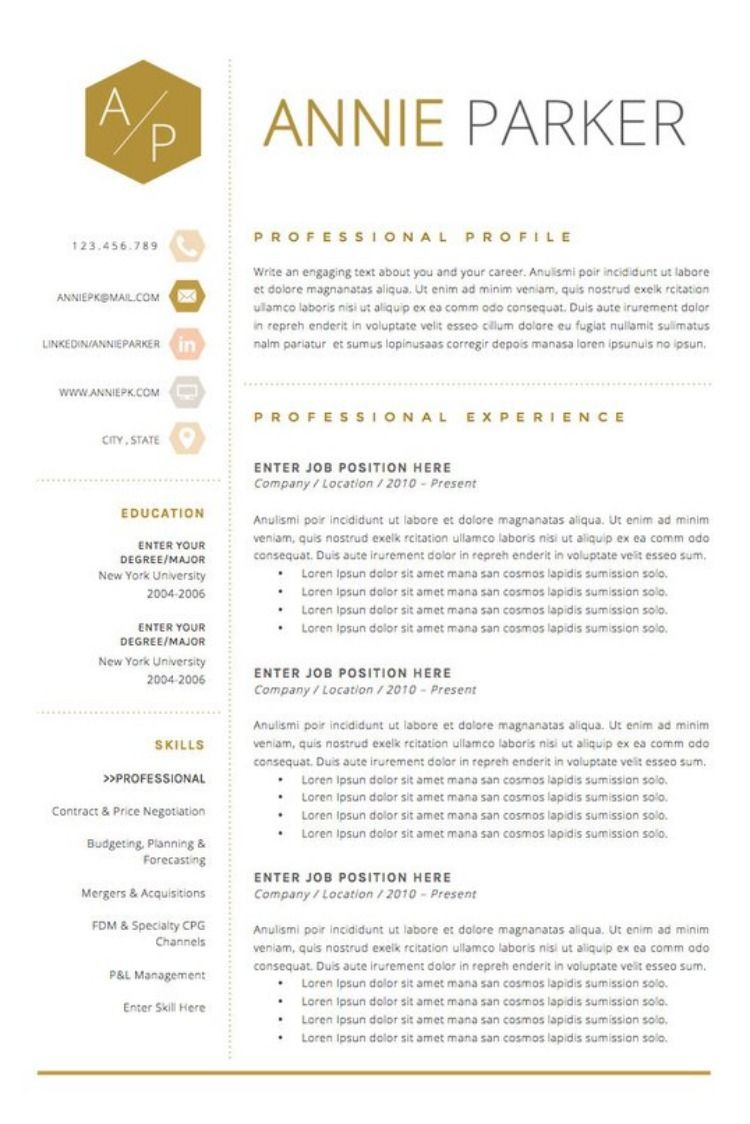 The Best Resume for 2019