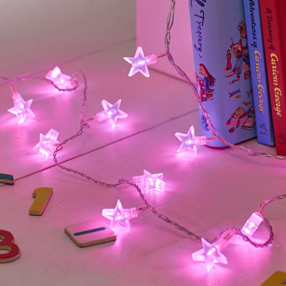Pin By Angela On Home Pinterest Cable Lights And Bedrooms - Pink fairy lights for bedroom