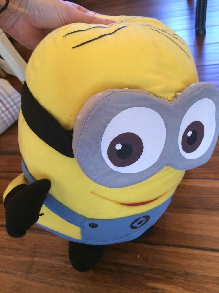 Despicable Me 2 Plush Minion Stuffed Animal Two Eye Doll | eBay