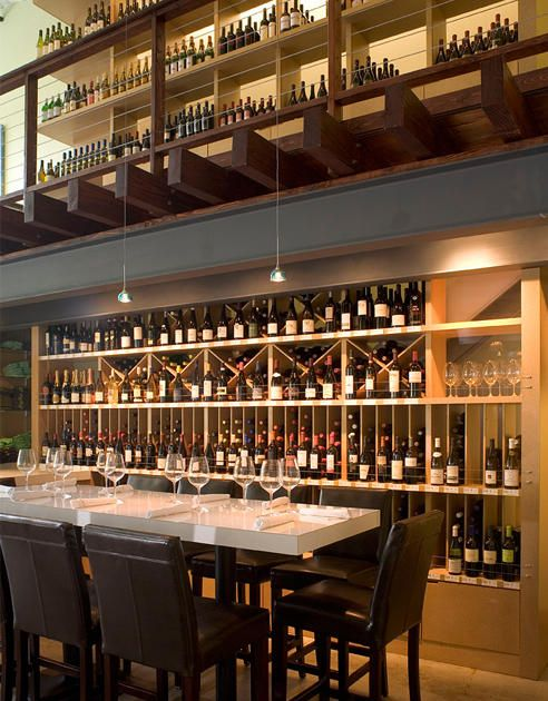 wine storage in Grove wine bar and Lola Savannah coffee lounge ...