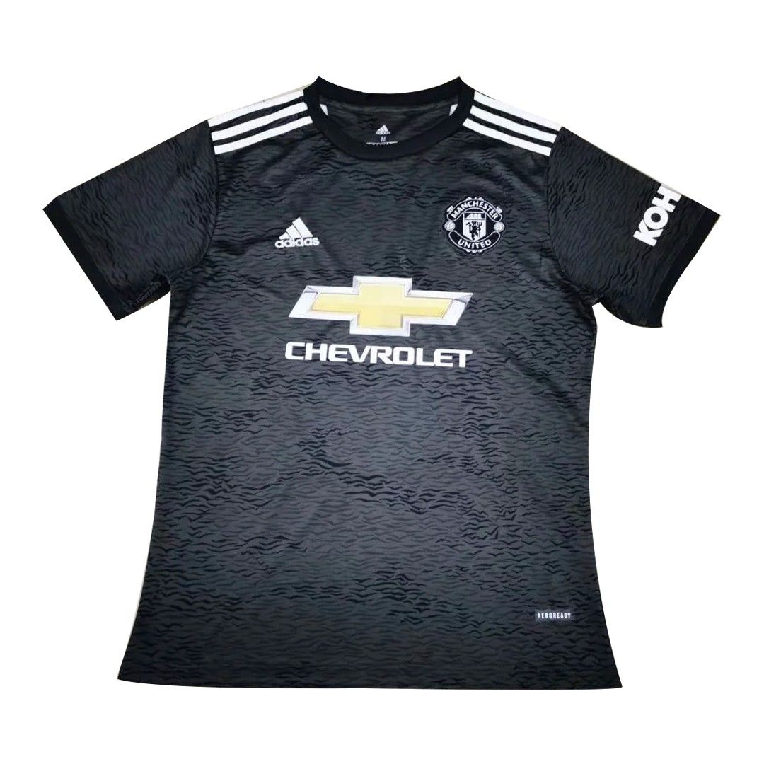 20 21 Manchester United Away Black Jerseys Shirt In 2020 Jersey Jersey Shirt Manchester United
