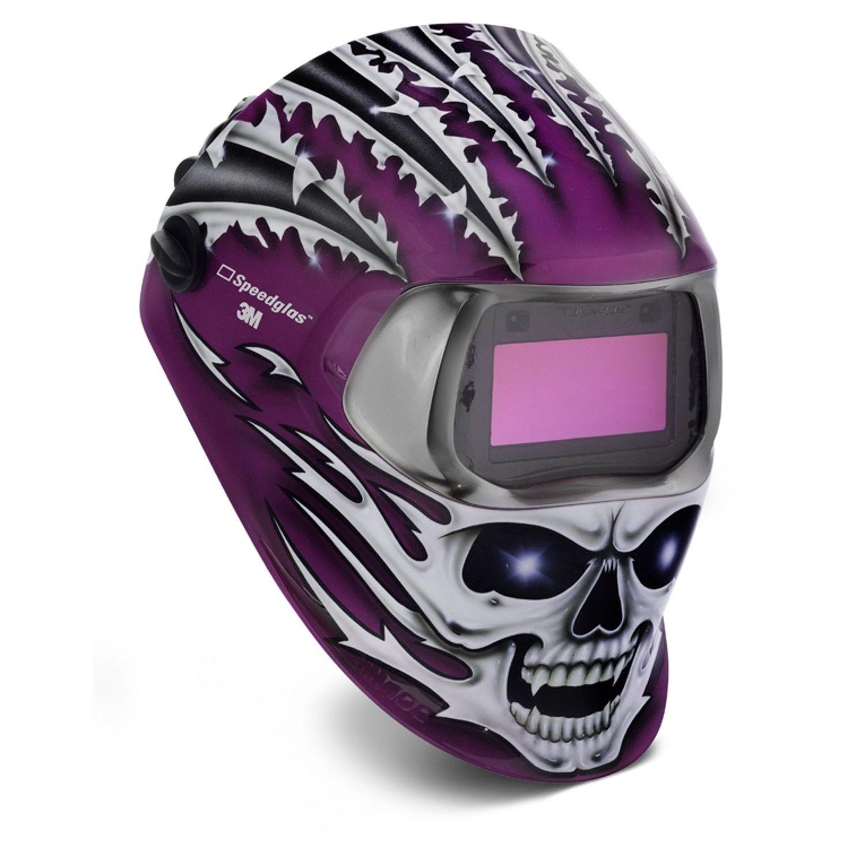 Pin en Custom welding helmets