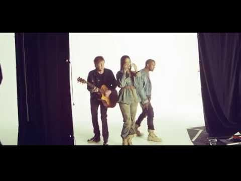 Behind The Scenes Of Fourfiveseconds By Rihanna And Kanye West And Paul Mccartney Paul Mccartney Rihanna Rihanna Show