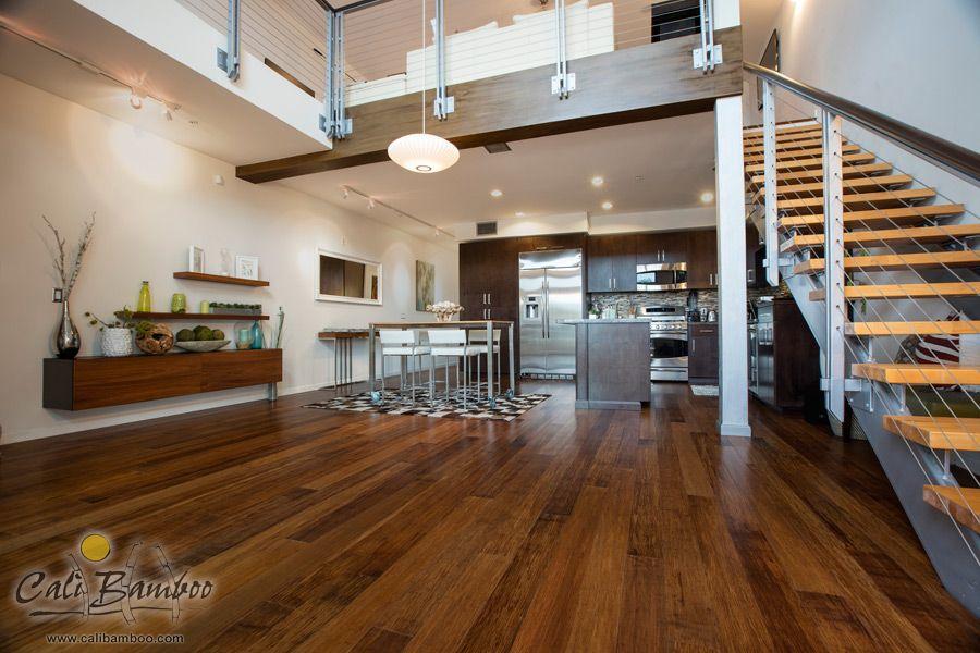 Loft Flooring Idea Java Bamboo By Cali